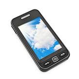 Téléphone portable avec carte prépayée
